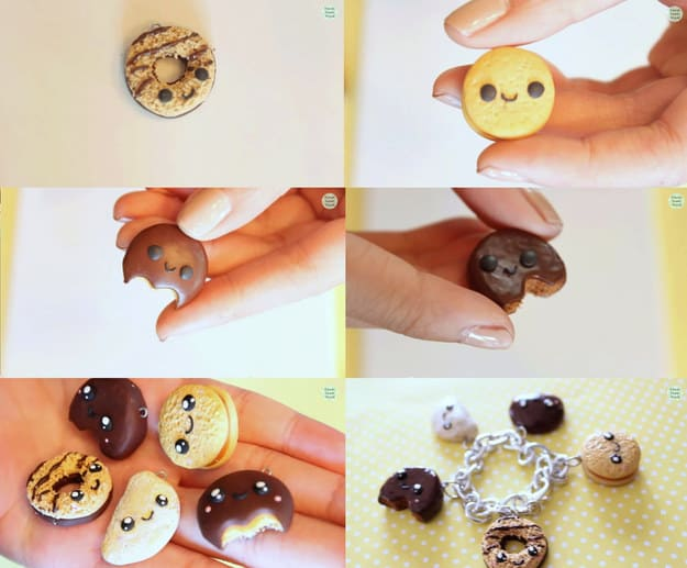 Cookie and Donut bracelet
