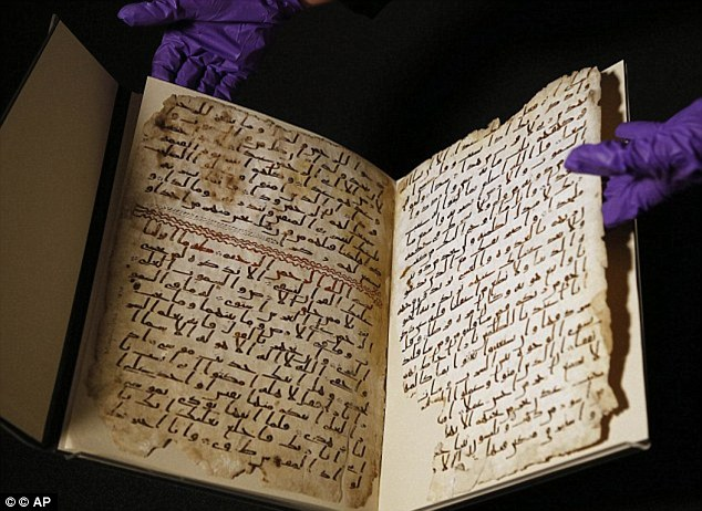 The pages were carbon dated by experts at the University of Oxford, which showed it could be the oldest Koran in the world