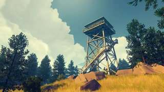 Image of the watchtower from Firewatch by Campo Santo